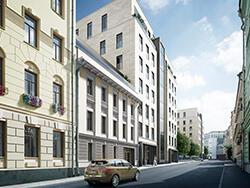 «Полянка/44» — комплекс элитных особняков Роскошные пентхаусы. 2 км от Кремля.